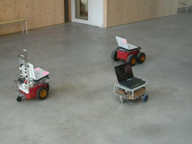 Decentralized control of multi-robot systems